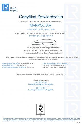 Cert QMS-EMS-POLPL-MARPOL 2019