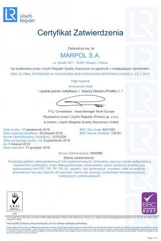 CertBRCIOP_pl_Marpol_2018